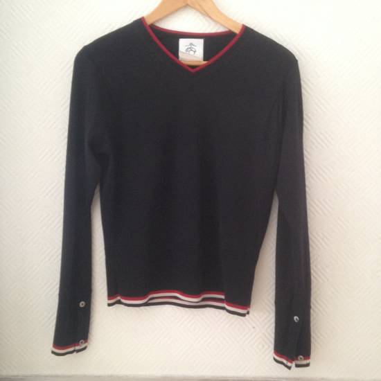 Thom Browne Thom Brown Brooks Brother Black Fleece Sweater Size 0 Size XS Size US XS / EU 42 / 0 - 14