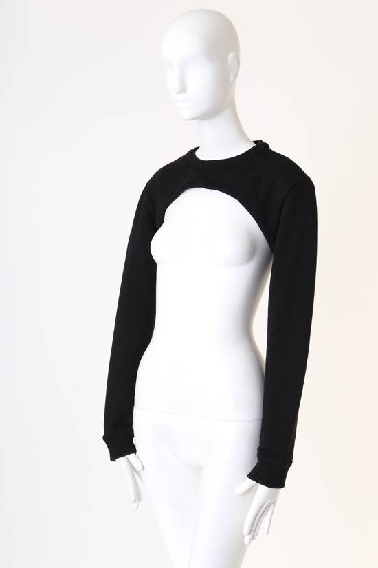 Givenchy GIVENCHY RICCARDO TISCI RT black crew neck cropped sweater long sleeves top XS Size US XS / EU 42 / 0 - 3