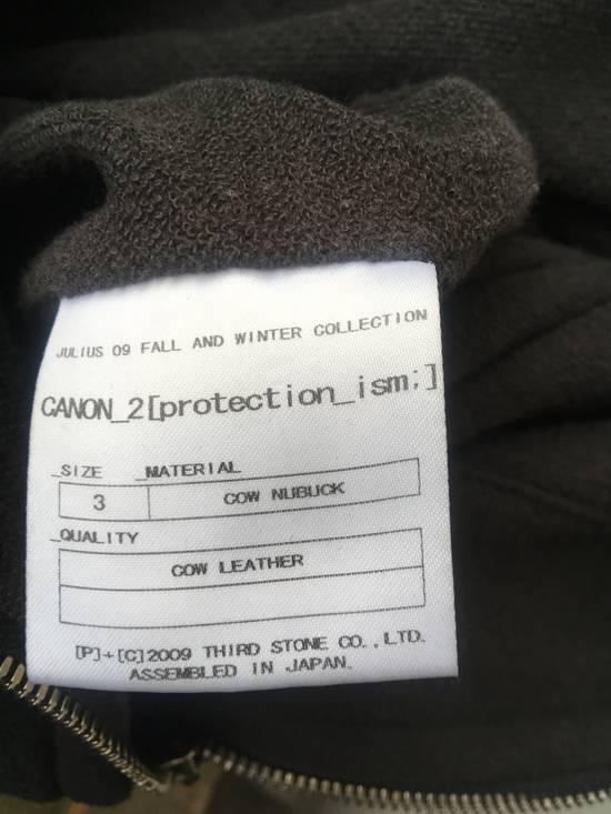 Julius Julius leather hood jacket Size US M / EU 48-50 / 2 - 8