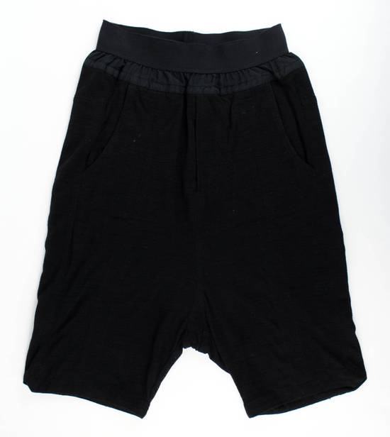 Julius MA_JULIUS Men's Black Polyester Blend Casual Shorts Size 1/XS Size US 30 / EU 46