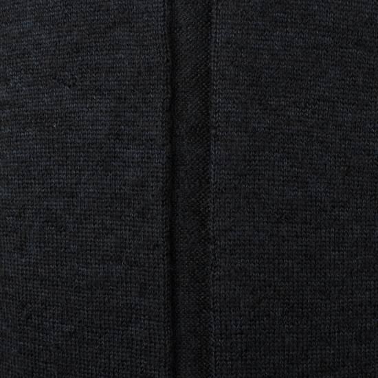 Julius 7 Black Silk-Mohair 'Square Neck Panelled' Sweater Size 1/XS Size US XS / EU 42 / 0 - 5