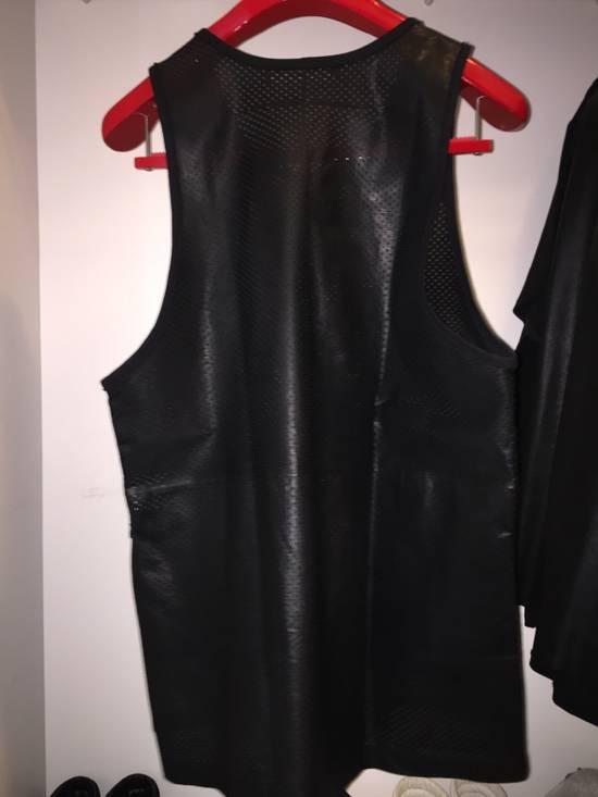 Givenchy Leather basketball jersey Size US L / EU 52-54 / 3 - 1