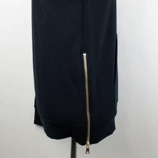 Balmain Men's Blue Cotton Snake Embroidered Henley Sweater Size Large Size US L / EU 52-54 / 3 - 3