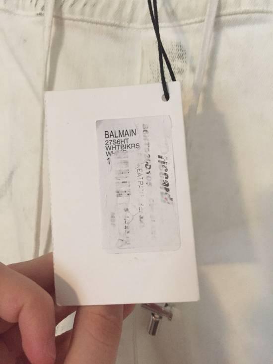 Balmain New $1325 Biker Denim Size US 36 / EU 52 - 7
