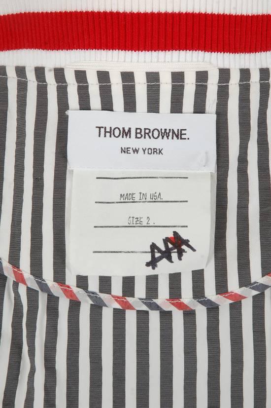 Thom Browne Thom Browne Grey Striped Bomber Size US M / EU 48-50 / 2 - 4