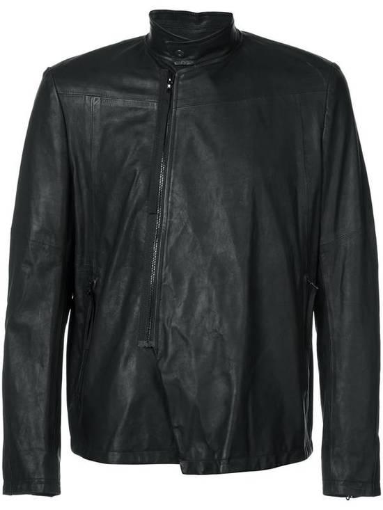 Julius Black Leather Jacket Size US M / EU 48-50 / 2 - 3