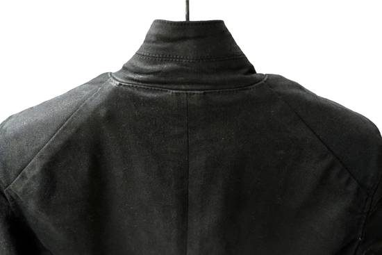 Julius JULIUS _7 ma moto black knit denium biker jacket sz1 eu44 46 xs s slim fit Japan Size US S / EU 44-46 / 1 - 13