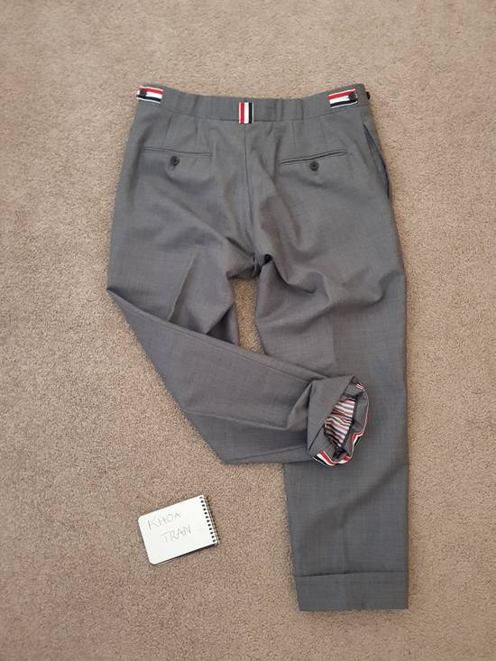 Thom Browne Light Grey cropped dress trousers Size US 32 / EU 48 - 6