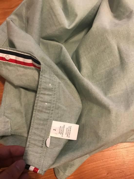 Thom Browne Classic Light Green Long Sleeves Size US M / EU 48-50 / 2 - 3