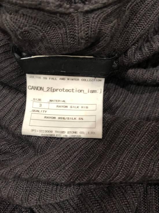 Julius FW09 CANON_2 Rayon/Silk Cowl Neck Long Tee Size US M / EU 48-50 / 2 - 3