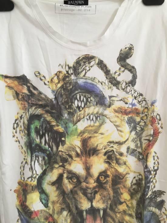Balmain Lion T-shirt Size US XS / EU 42 / 0 - 2