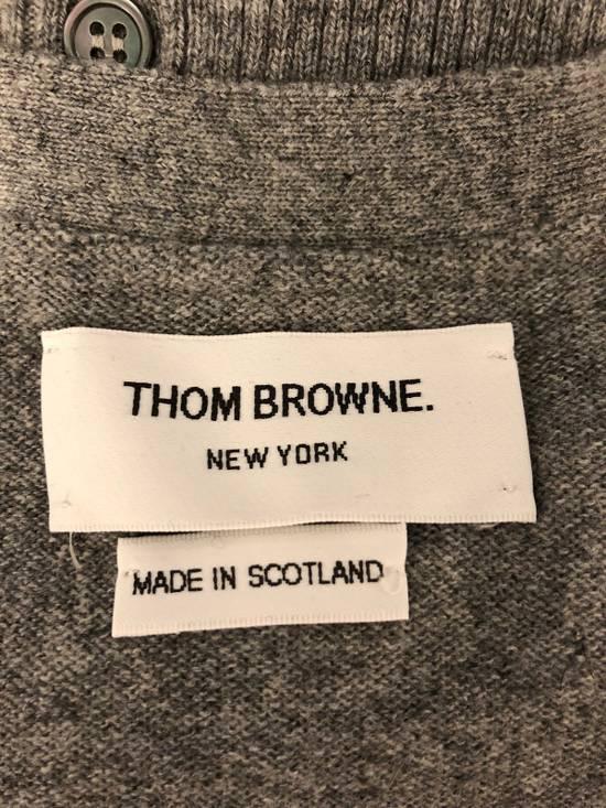 Thom Browne THOM BROWNE Slim-Fit Striped Cashmere Cardigan Size US XL / EU 56 / 4 - 1