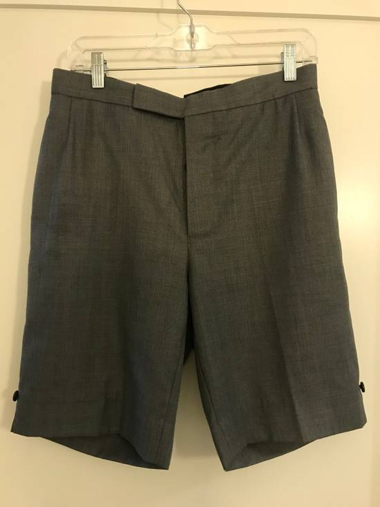 Thom Browne Classic Thom Browne Grey Wool Shorts Size US 29