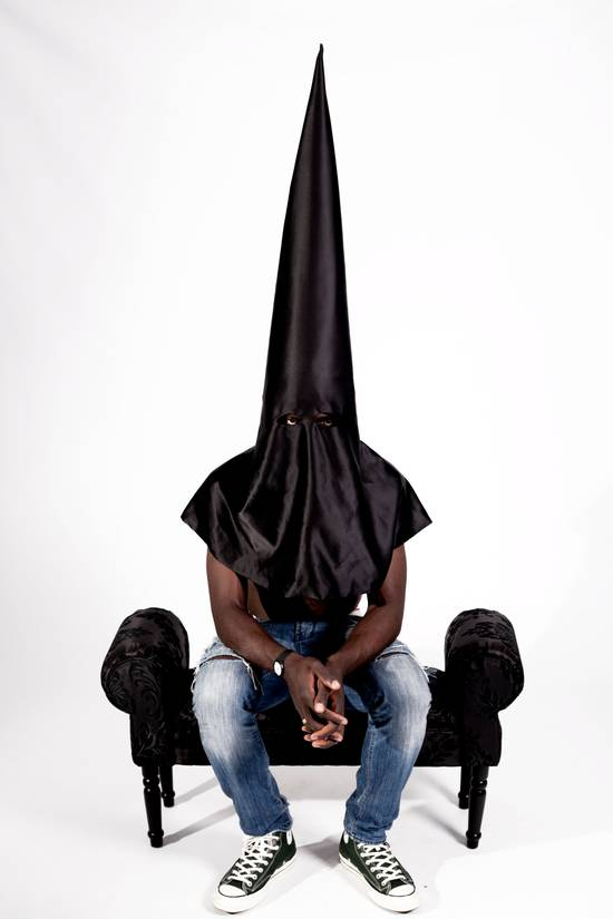 Kanye West KANYE WEST 'BLKKK SKKKN HEAD' MEMORABILIA- conical mask worn in 2013 music video Size ONE SIZE - 7
