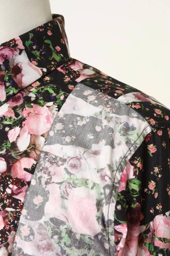 Givenchy GIVENCHY Pre14 reversed panel rose floral digital print cotton shirt US40 FR50 Size US M / EU 48-50 / 2 - 8