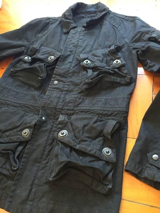 Julius AW08 Gas mask cargo pocket denim jacket Size US S / EU 44-46 / 1 - 3