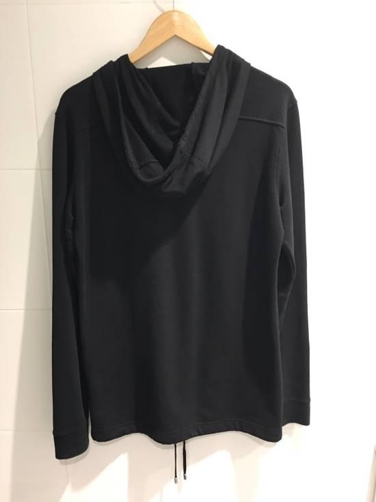 Balmain Hooded Long Sleeve T-Shirt Size US S / EU 44-46 / 1 - 1