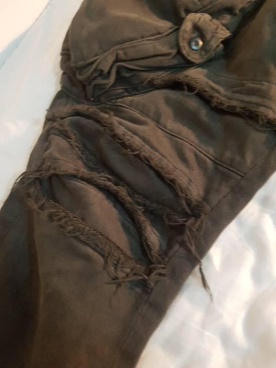 Julius Julius Distressed Gasmask Cargo Pants Size US 30 / EU 46 - 10