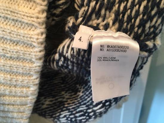 Thom Browne Donegal Icon Fair Isle Sweater in White Wool Mix Size US L / EU 52-54 / 3 - 6