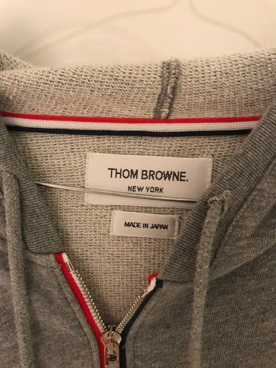 Thom Browne Zip-Up Hooded Cotton Sweatshirt Size US M / EU 48-50 / 2 - 1