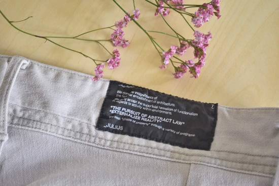 Julius SS13 curved denim jeans Size US 32 / EU 48 - 3
