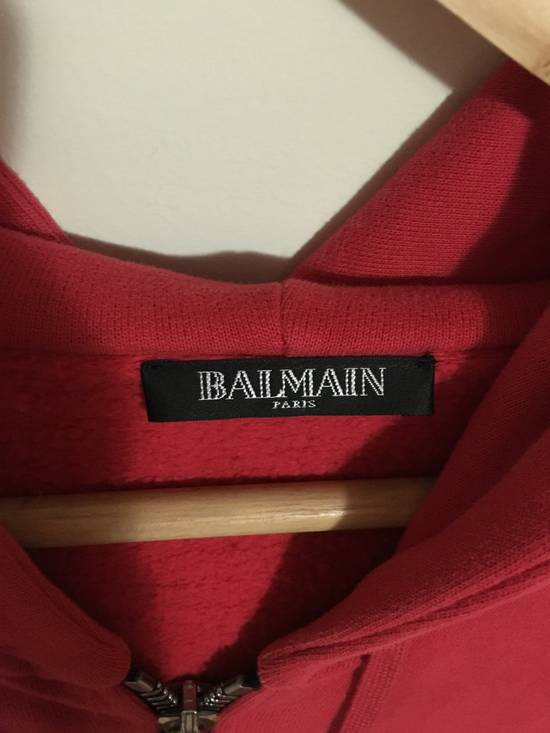 Balmain red crest hoodie Size US S / EU 44-46 / 1 - 3