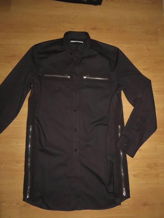 Givenchy Black zipped shirt Size US XL / EU 56 / 4 - 5