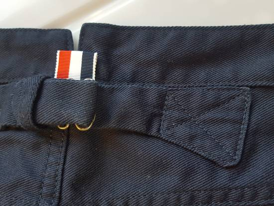 Thom Browne Navy Back-strap Trousers RB2 Size US 30 / EU 46 - 7
