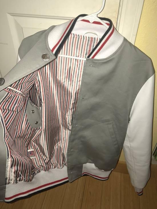 Thom Browne Rare Two Tone Varsity Jacket Size US S / EU 44-46 / 1 - 3