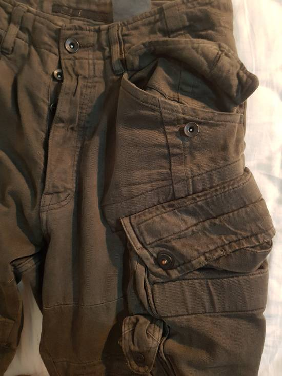 Julius Julius Distressed Gasmask Cargo Pants Size US 30 / EU 46 - 8