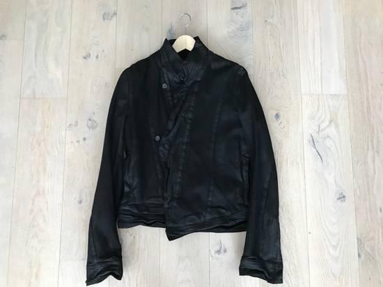Julius SS/16 Black Waxed Denim Jacket Size US M / EU 48-50 / 2 - 2
