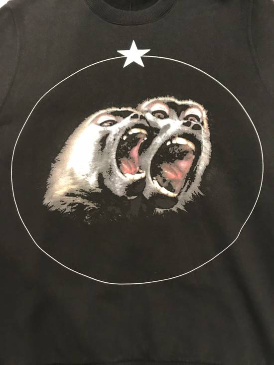 Givenchy GIVENCHY Monkey Brothers cotton-jersey sweatshirt Size US M / EU 48-50 / 2 - 1