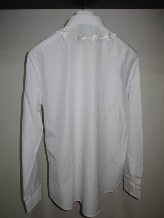 Givenchy Barbed wire embroidered shirt Size US S / EU 44-46 / 1 - 4