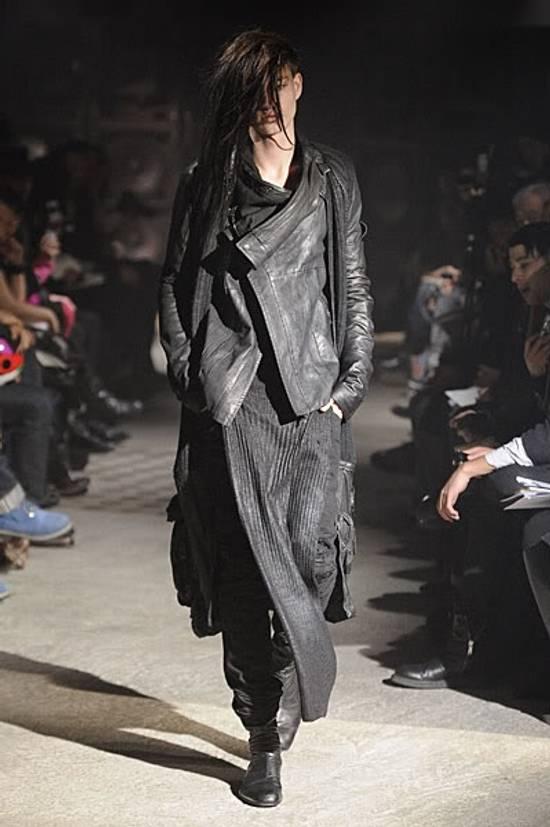 Julius Cowl Neck Leather Jacket Size US M / EU 48-50 / 2
