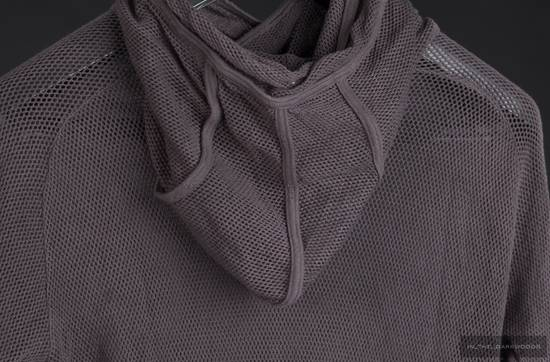 Julius = last drop = 2009SS mesh knit cotton hooded top Size US S / EU 44-46 / 1 - 5