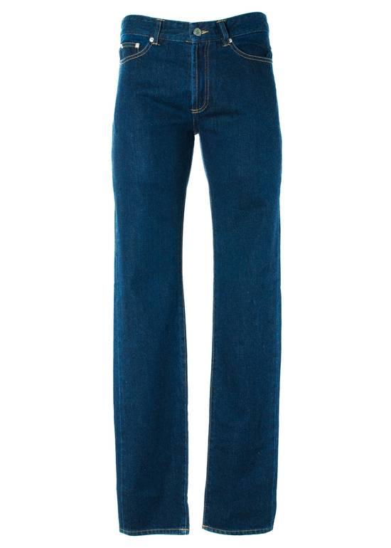 Givenchy Givenchy Men's Medium Blue W/ Star Accent Denim Jeans Size US 36 / EU 52
