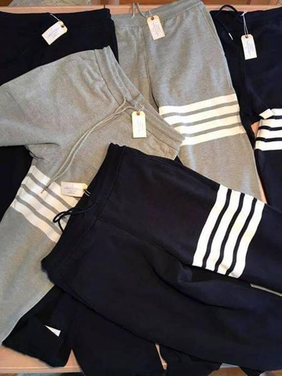 Thom Browne THOM BROWNE Grey 4 Bar Lounge Pants Size US 34 / EU 50 - 1