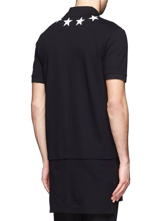 Givenchy Givenchy Star Print Extended Hem Rottweiler Shark Polo Shirt T-shirt size XS (S) Size US S / EU 44-46 / 1 - 2