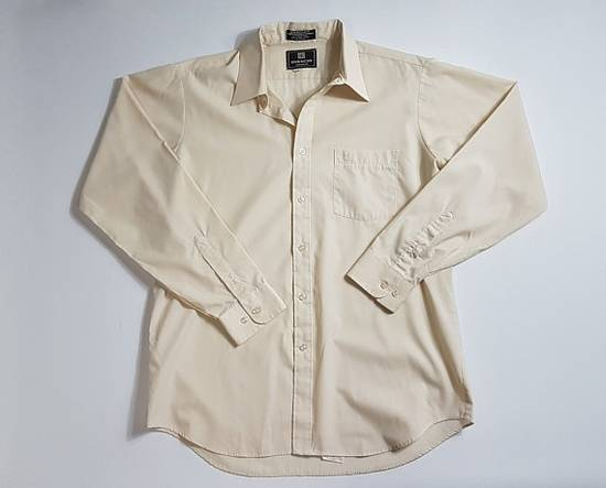 Givenchy SALE 1990s Vintage GIVENCHY Long Sleeve Button Up Dress Shirt / 90's Hip Hop Clothing / Retro Fresh Prince Streetwear FREE Shipping Size US XL / EU 56 / 4