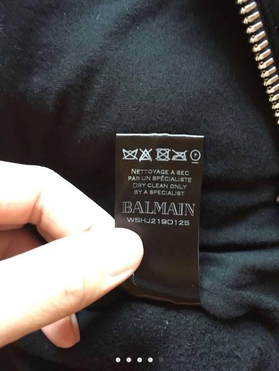 Balmain Lamb Skin Zip up Hoodie Size US M / EU 48-50 / 2 - 5