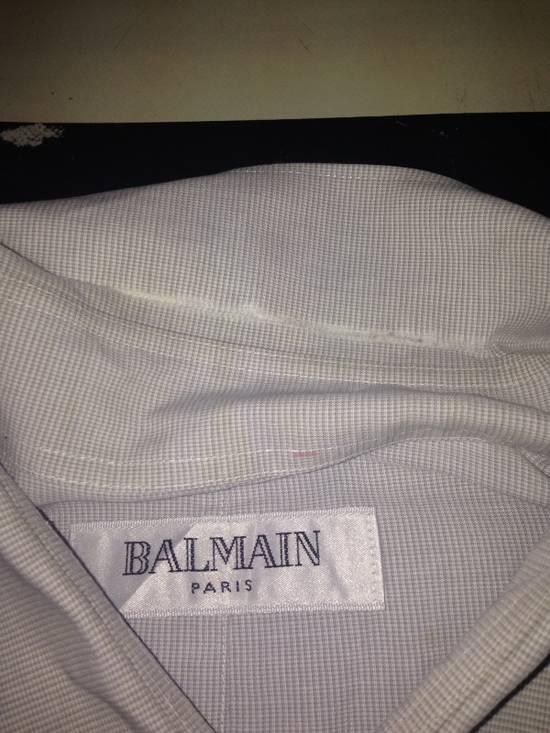 Balmain Balmain Paris Shirt ( Made In Japan ) Size US L / EU 52-54 / 3 - 4