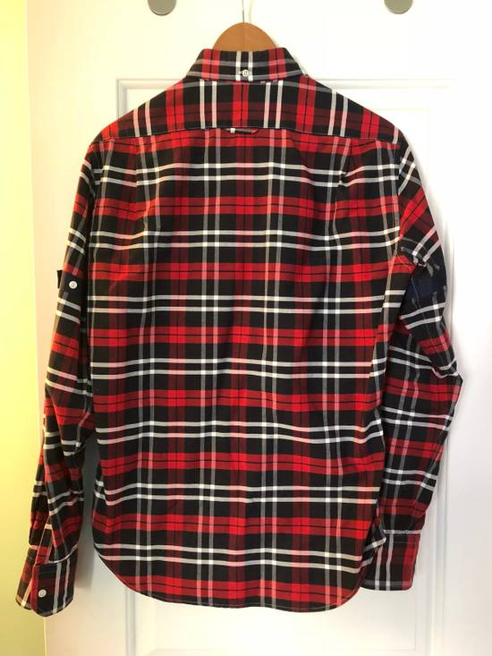 Thom Browne Red/Navy/White Plaid Shirt Size US M / EU 48-50 / 2 - 2