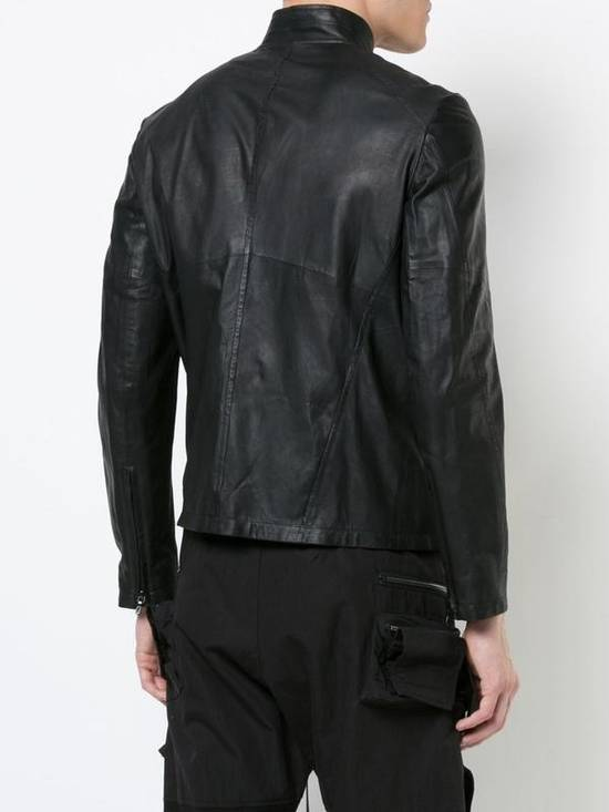 Julius Black Leather Jacket Size US M / EU 48-50 / 2 - 1