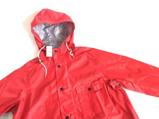 Thom Browne Red Hooded Rain Parka, NWT Size US L / EU 52-54 / 3 - 2
