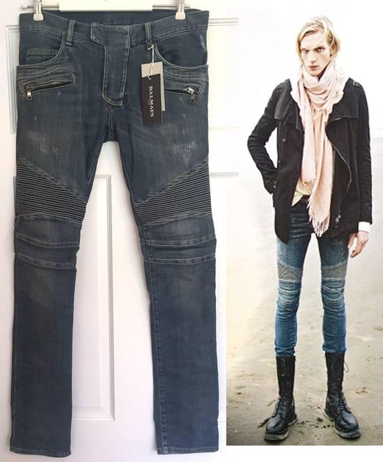 Balmain ss12 Biker jeans (fit 28) Size US 29