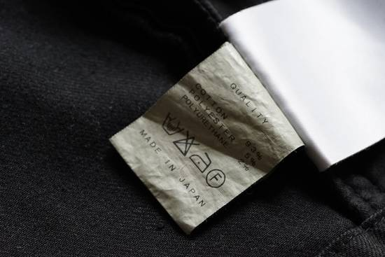 Julius JULIUS _7 ma moto black knit denium biker jacket sz1 eu44 46 xs s slim fit Japan Size US S / EU 44-46 / 1 - 18