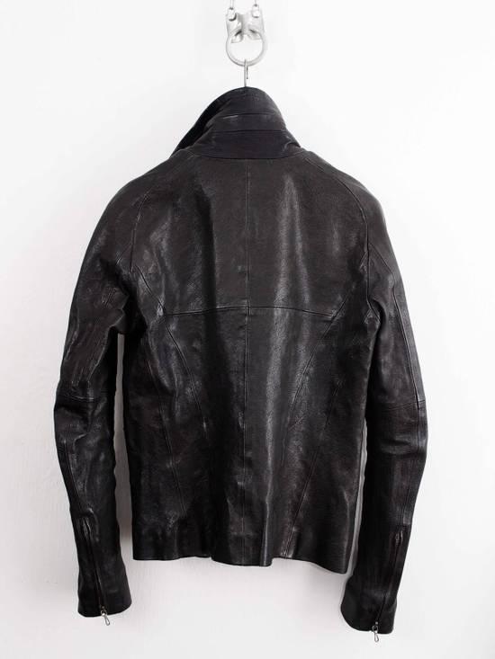 Julius Julius Jut Neck Leather Jacket Size US S / EU 44-46 / 1 - 1