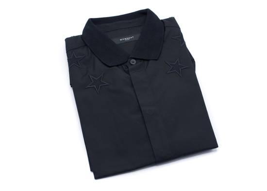 Givenchy Givenchy Mens Black Star 100% Cotton Button Down Size US S / EU 44-46 / 1