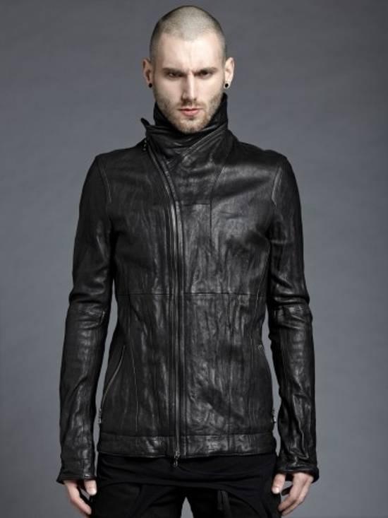 Julius Lamb Leather Jacket - s/s 11 Chaos Ontological Anarchism Size US S / EU 44-46 / 1