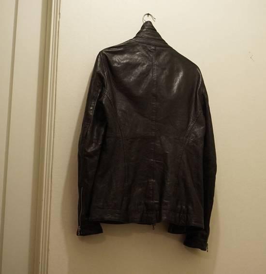 Julius Lamb Leather Jacket - s/s 11 Chaos Ontological Anarchism Size US S / EU 44-46 / 1 - 4